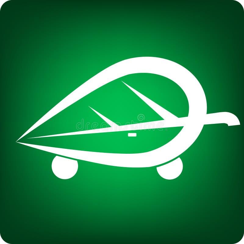 Véhicule vert illustration libre de droits