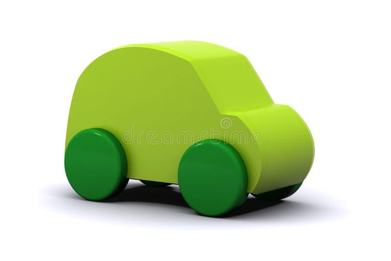 Véhicule vert illustration de vecteur