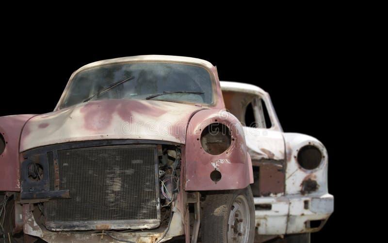 véhicules abandonnés photos stock