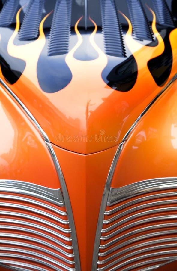 Véhicules colorés de Rod chaud images libres de droits