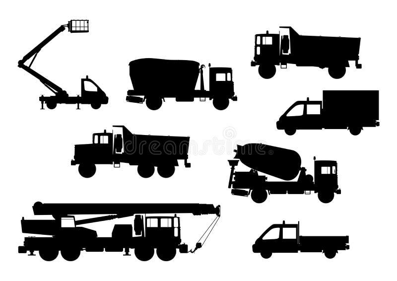 Véhicules de construction illustration stock