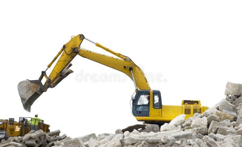 véhicules de construction images libres de droits