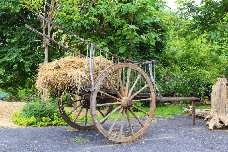 Véhicules ou chariots classiques thaïs. image libre de droits