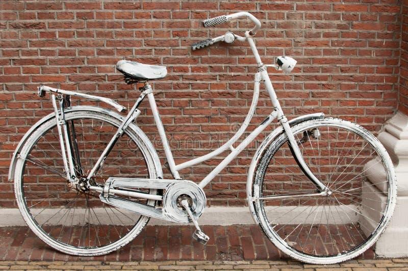 Vélo à Amsterdam image libre de droits