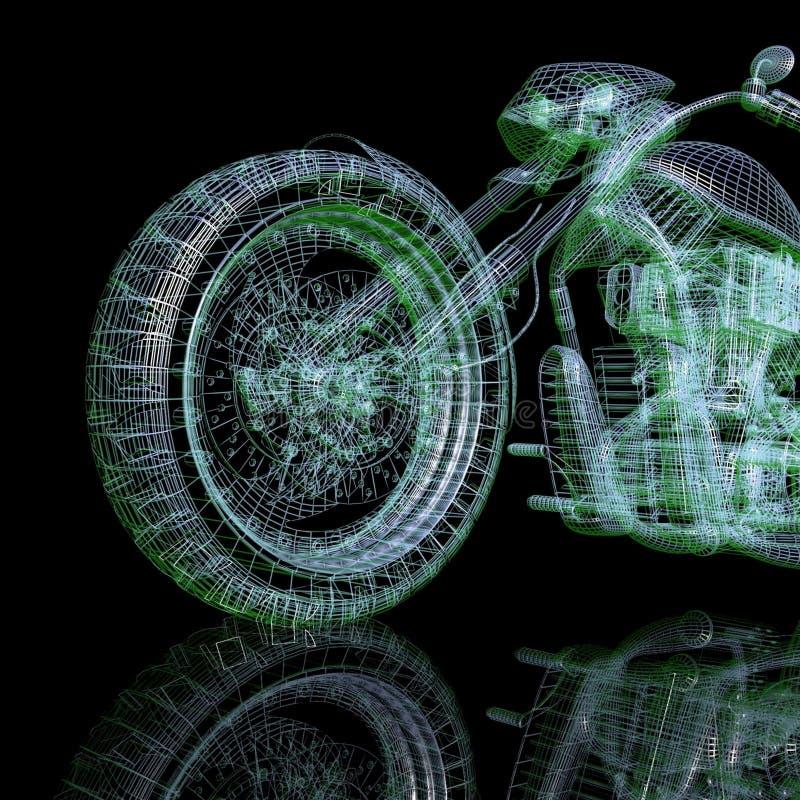 vélo 3d modèle illustration libre de droits