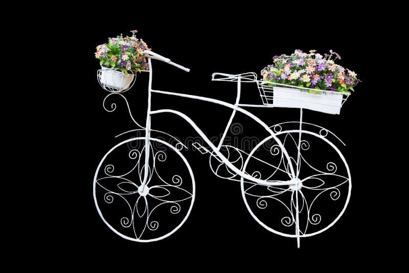 Vélo Blanc Fait En Cadre En Acier, Approprié à La Décoration ...