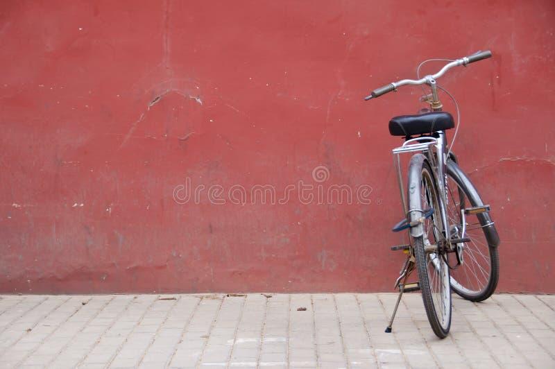Vélo chinois en dehors de la ville interdite, Pékin photos stock
