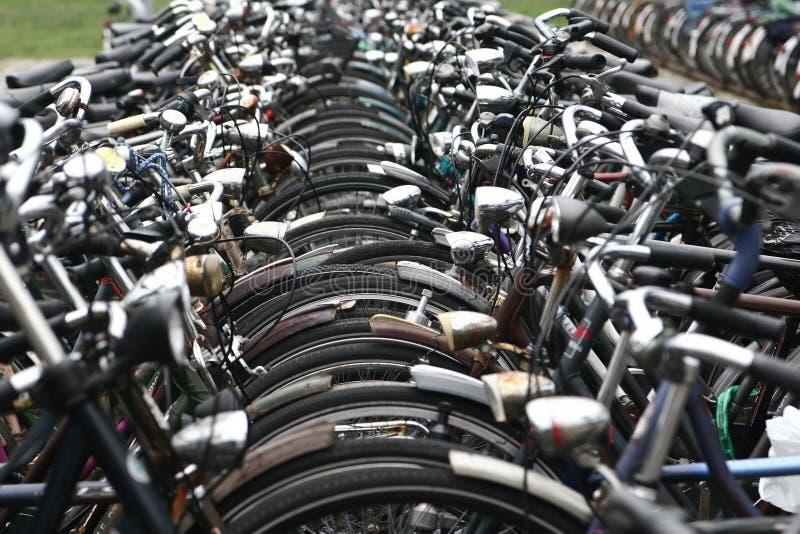 Vélo ciy images libres de droits