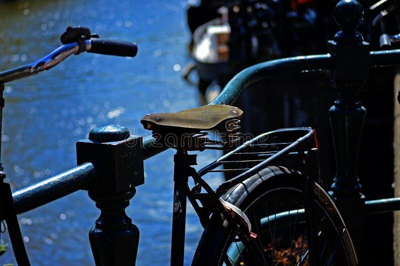 Vélo d'Amsterdam images libres de droits