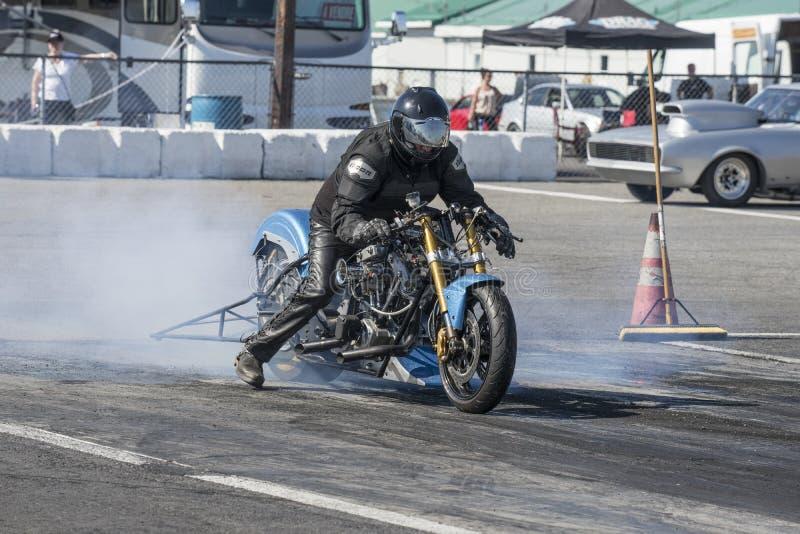 Vélo d'entrave de Harley davidson photo stock