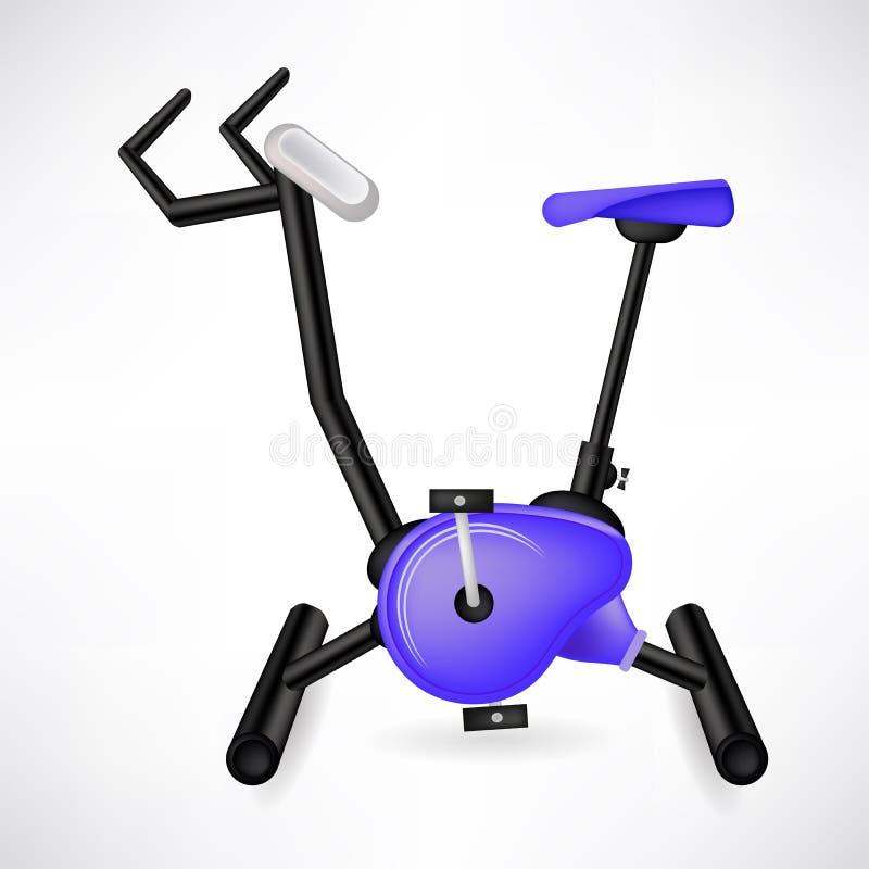 Vélo d'exercice illustration de vecteur