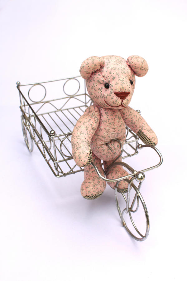 Vélo d'ours image stock