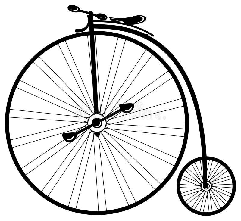 Vélo de cru illustration stock