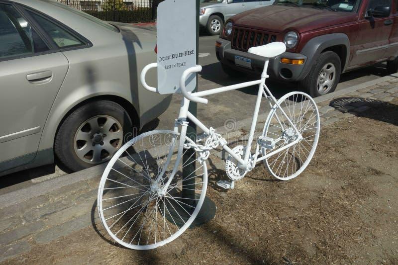 Vélo de Ghost images libres de droits