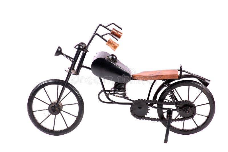 Vélo de jouet en métal photo stock