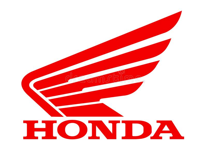 Vélo de Logo Honda illustration stock
