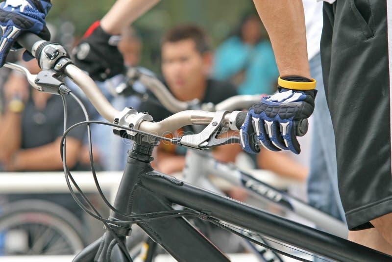 Vélo de montagne photo stock