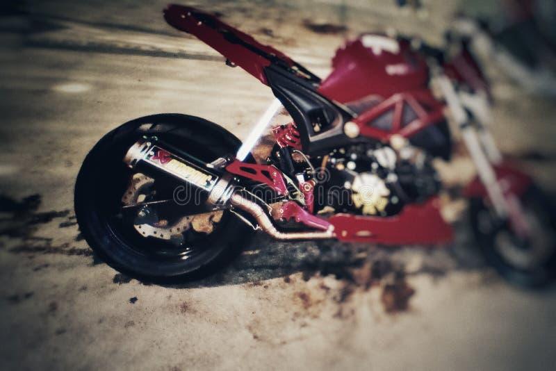 Vélo de moteur photos stock
