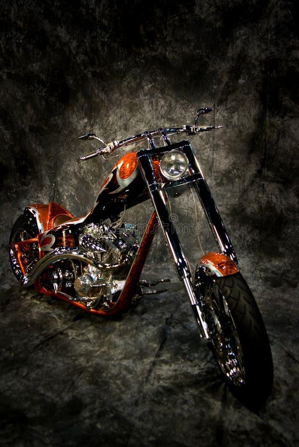 Vélo de moteur contre le contexte photos libres de droits