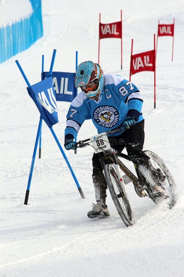 Vélo duel de slalom de Teva image libre de droits