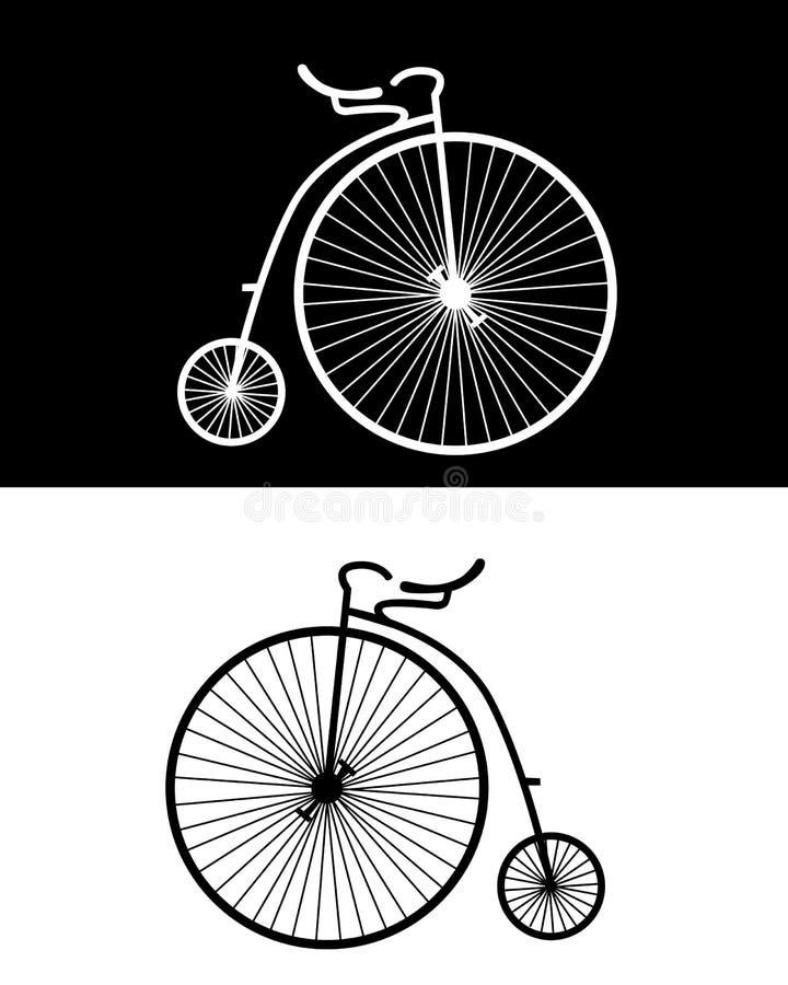Vélos de cru illustration libre de droits