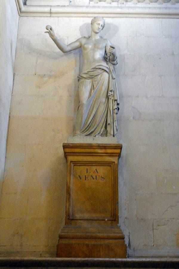 Vénus dans la ville hôtel, Arles, France images stock