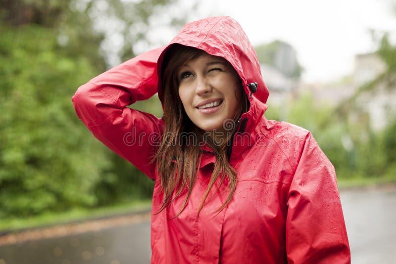 Vérification la pluie photos libres de droits