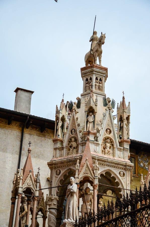 Vérone Italie Chucrch de Santa Maria Antica image libre de droits