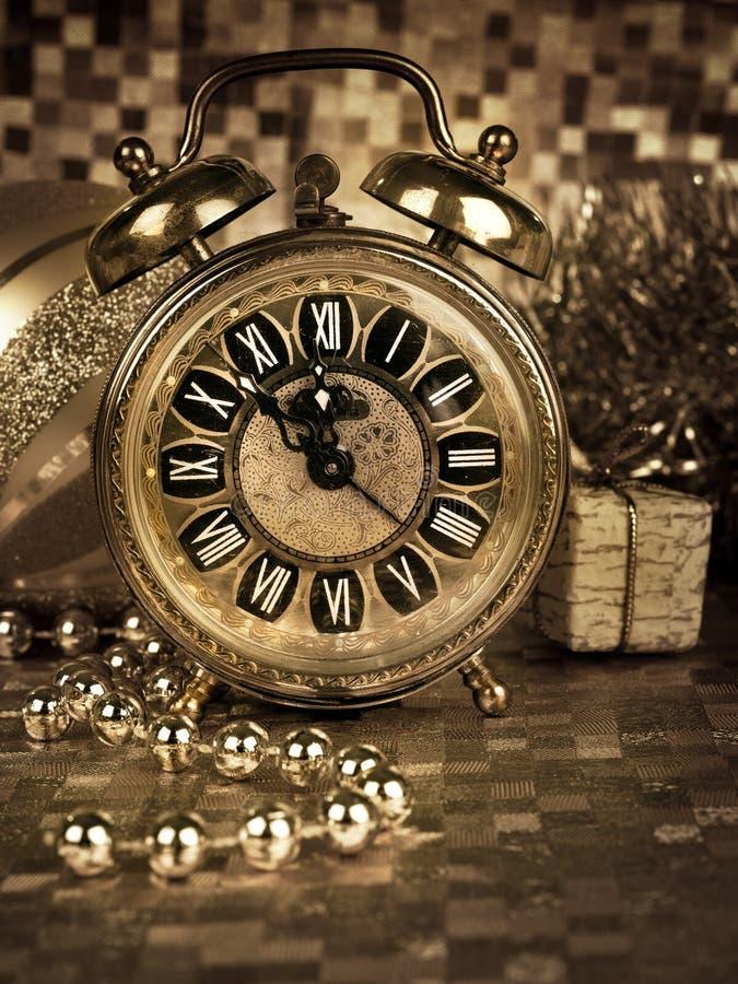 Véspera de Ano Novo imagens de stock royalty free