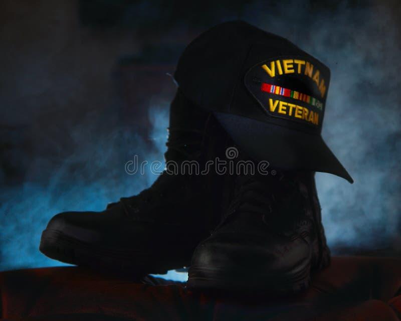 Vétéran du Vietnam photographie stock