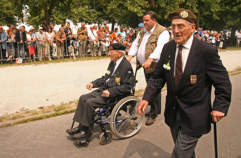 Vétérans photos libres de droits