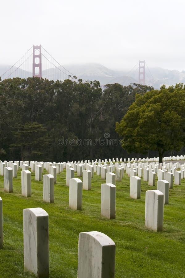 vétérans de national de jour de cimetière images stock