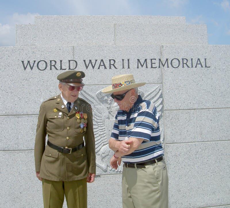 Vétérans de WWII image libre de droits