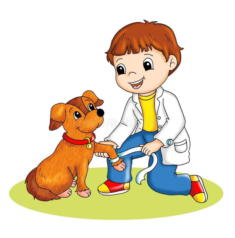 Vétérinaire illustration stock
