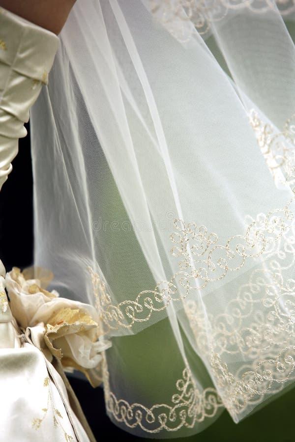 Véu do casamento imagem de stock royalty free