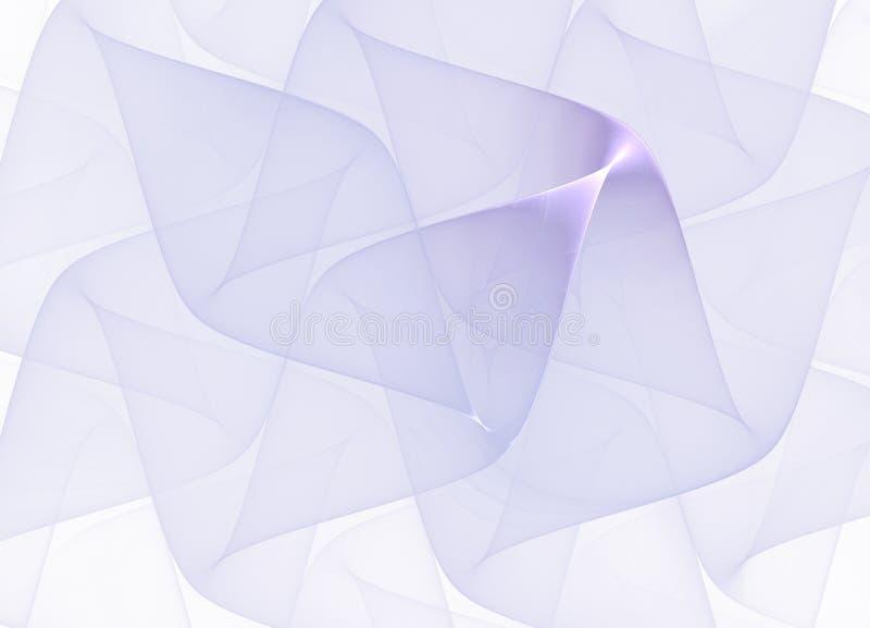 Véu lilás Imagem gerada por computador imagens de stock royalty free