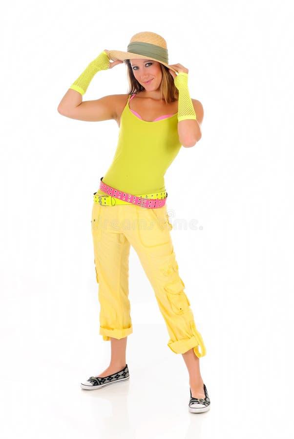 Vêtement d'été de femme images stock
