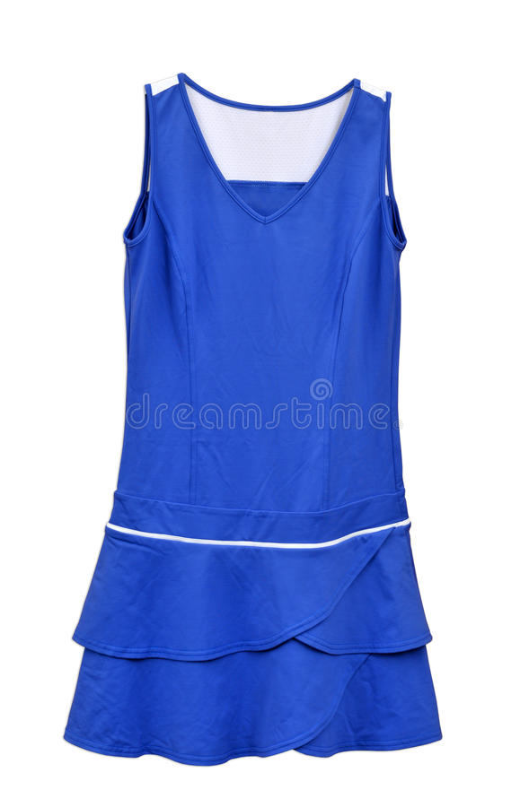 Vêtement de tennis pour des femmes image stock