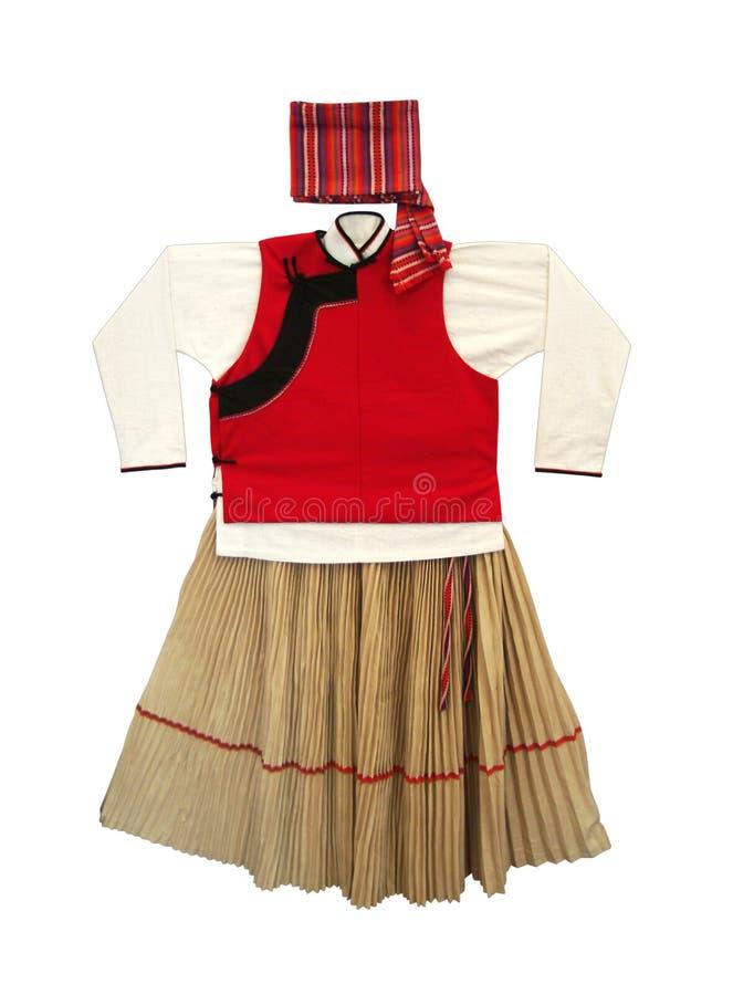 Vêtement traditionnel photographie stock