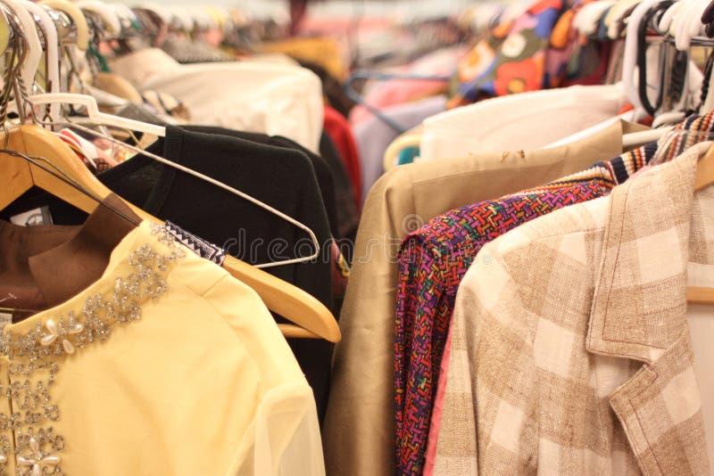 Vêtement utilisé photographie stock