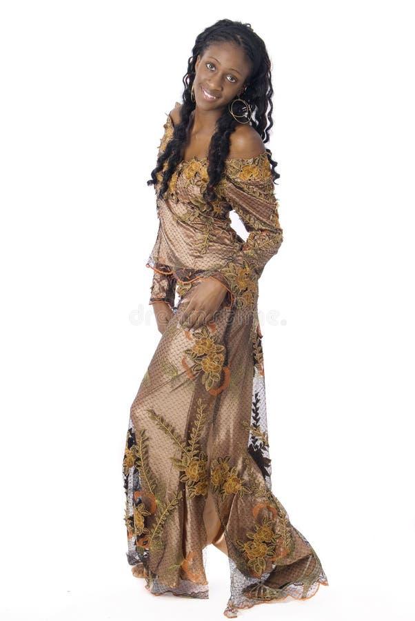 vêtements africains s'usant la femme photo libre de droits