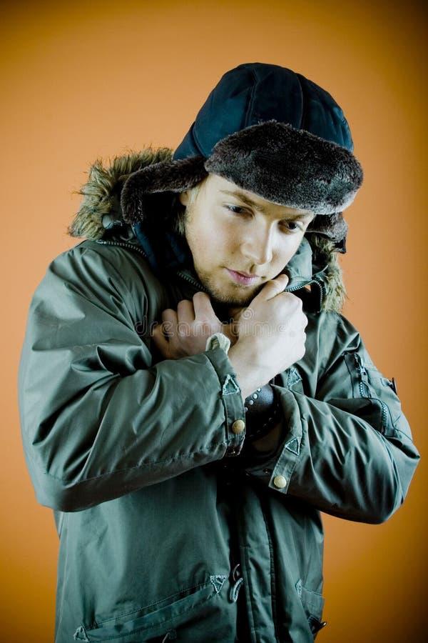 Vêtements de l'hiver image libre de droits
