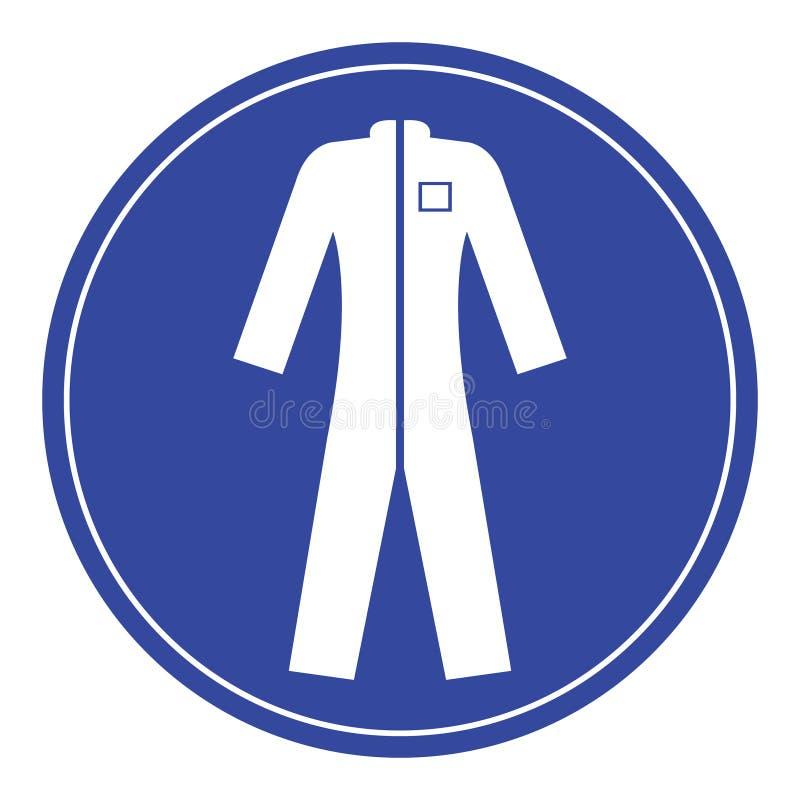vêtements de protection d'usage images libres de droits