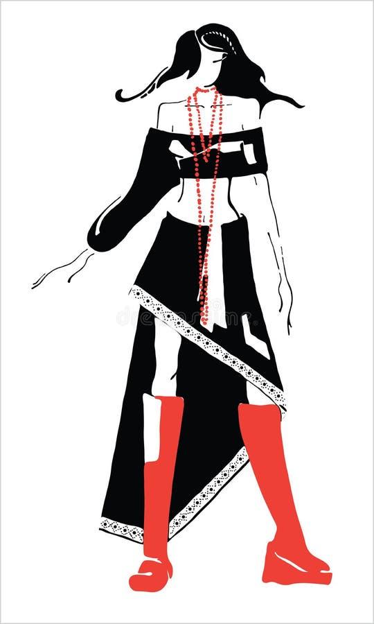 Vêtements de retrait. illustration libre de droits