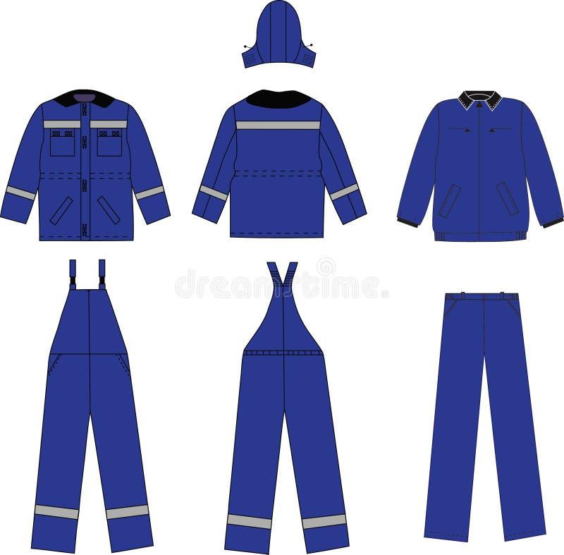 Vêtements de travail images stock