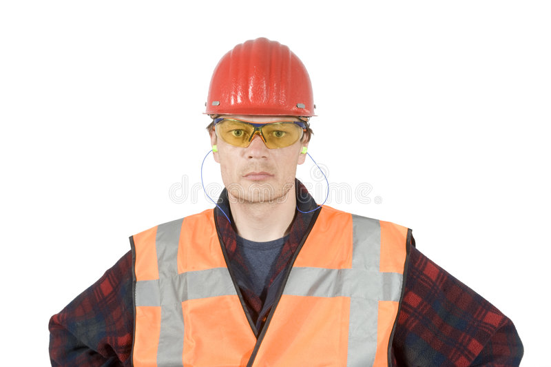 Vêtements de travail protecteurs photographie stock libre de droits