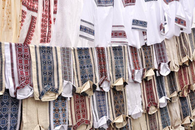 Vêtements nationaux ukrainiens, images stock