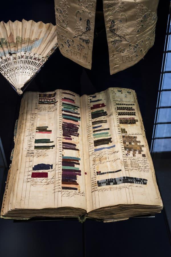 Vêtements personnels de Napoleon Bonaparte utilisés dans la bataille de Leipzig 1813 photos stock