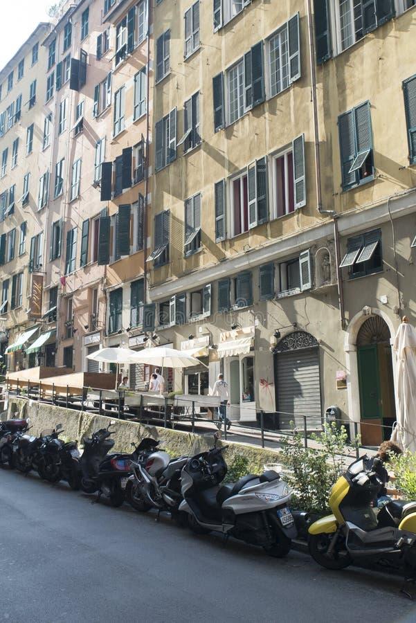 Download Vía Di Porta Soprana, Génova Fotografía editorial - Imagen de fachada, apartamento: 44855507