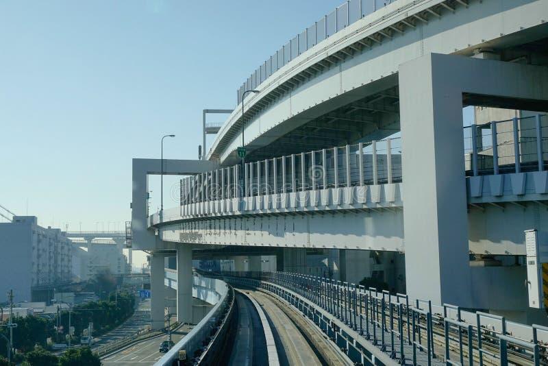 Vía en Tokio, Japón fotografía de archivo libre de regalías